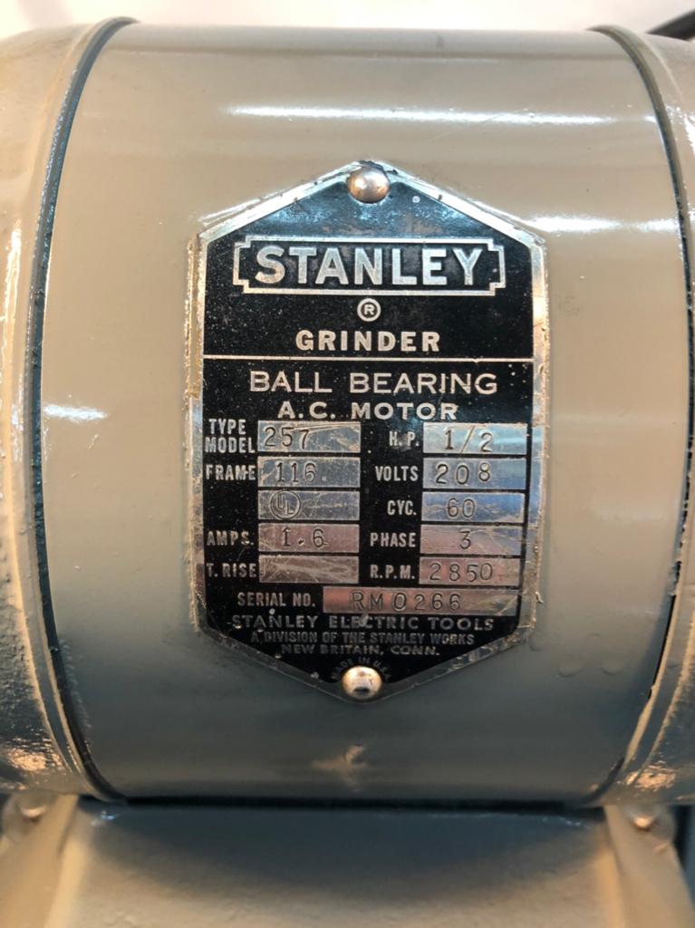Fantastic Stanley 257 Bench Grinder Capacitor The Garage Journal Board Unemploymentrelief Wooden Chair Designs For Living Room Unemploymentrelieforg