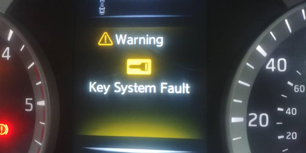 Key System Fault - Nissan-Navara net