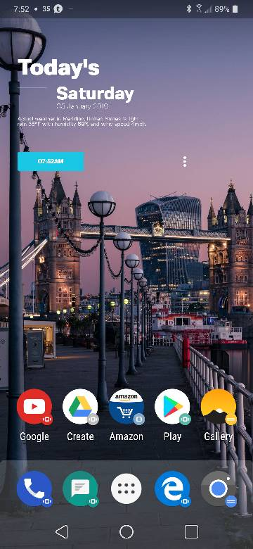 LG V40 - Share your setup/homescreen(s) here! - Page 3 - Android