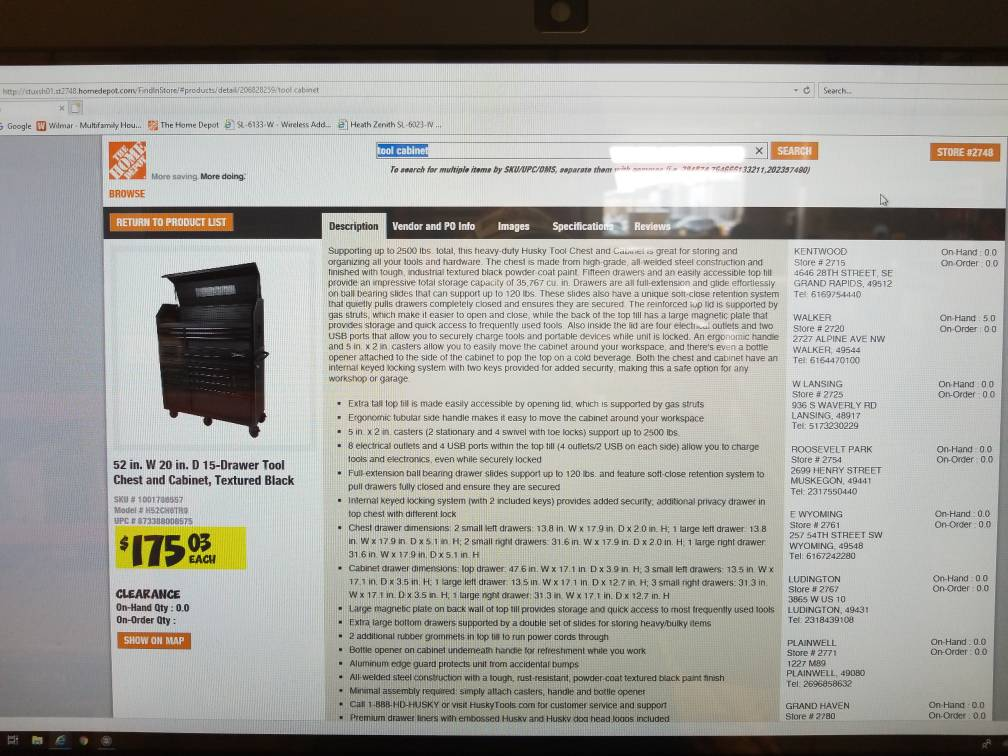 2019 Home Depot Clearance Thread - The Garage Journal Board