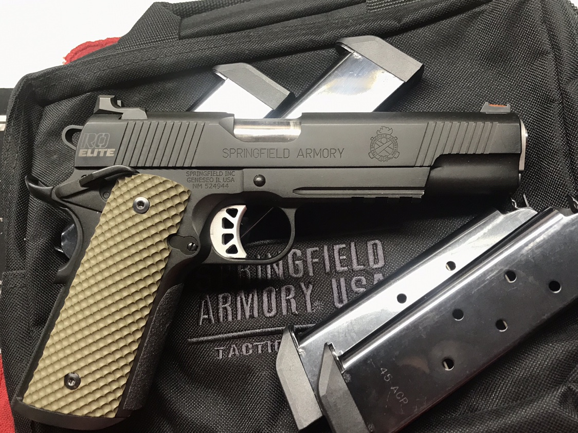 SOLD - Springfield Armory Range Officer Elite Operator 45acp