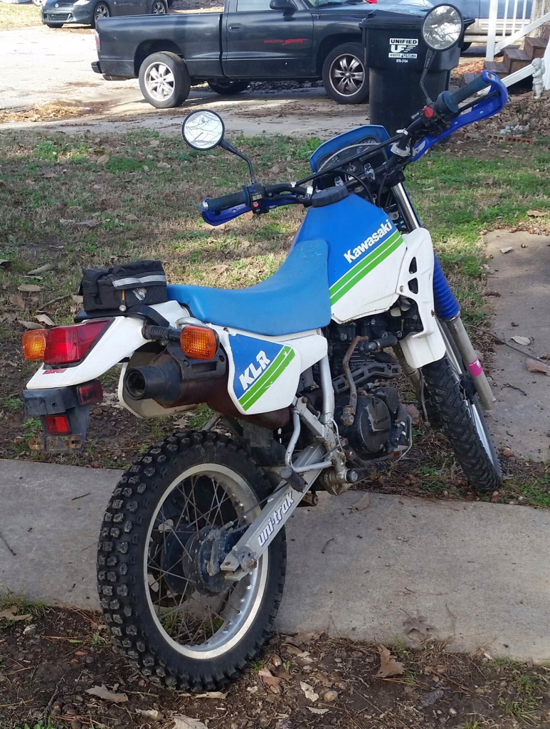 1989 Klr 250 For Wife