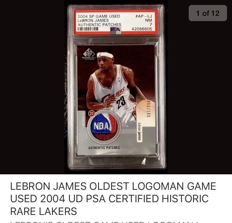 Fake Lebron Logoman on eBay - Blowout Cards Forums