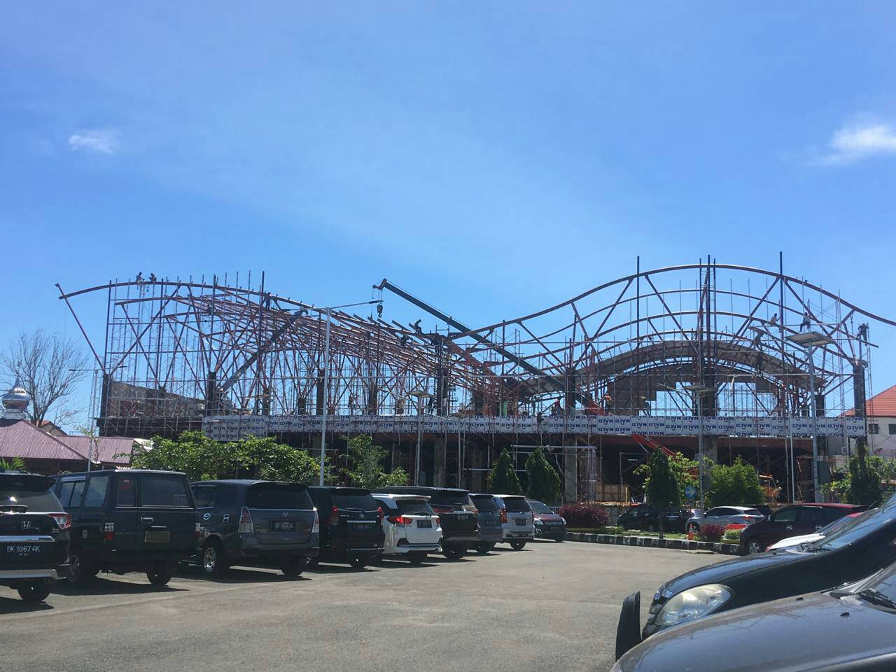 Proses pembangunan Bandara Fatmawati Soekarno sudah dimulai sejak awal tahun 2019.