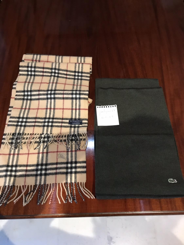 Vendo Vendo bufandas Lacoste y Burberry - Foro de Compraventa ... 266ca8425d1