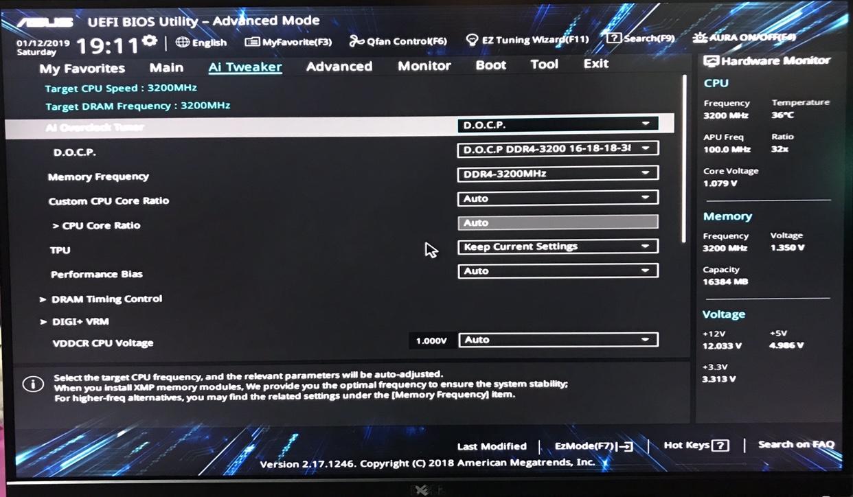 Configurar velocidad RAM en ASUS prime x470 pro