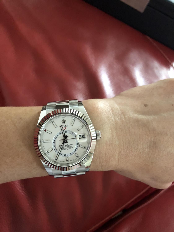 Sky Dweller SS too big ? , Rolex Forums , Rolex Watch Forum
