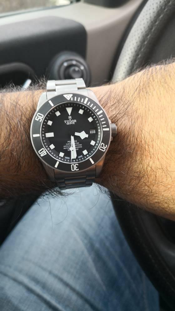 Αγορά μαύρου Tudor pelagos  - Ρολόγια Replica