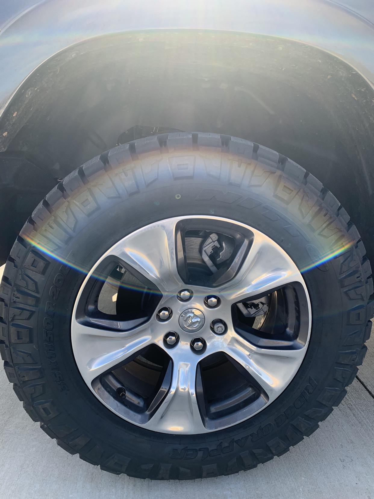 biggest tires on stock suspension  stock 20 inch rims