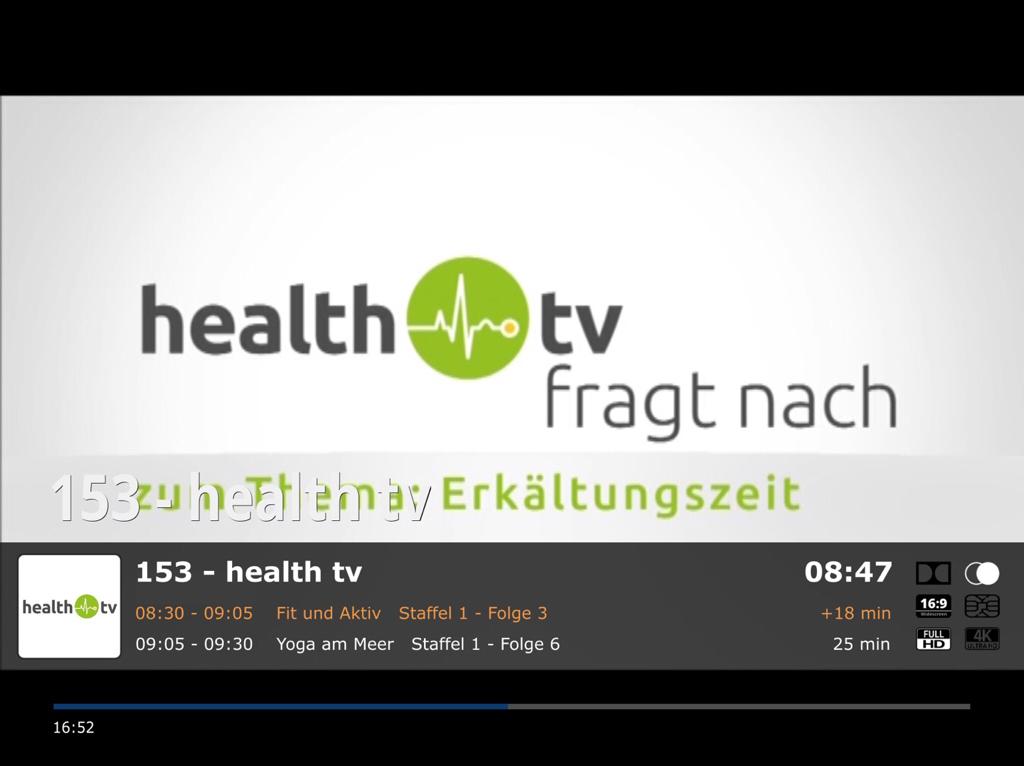 TV Infobar - MrMC