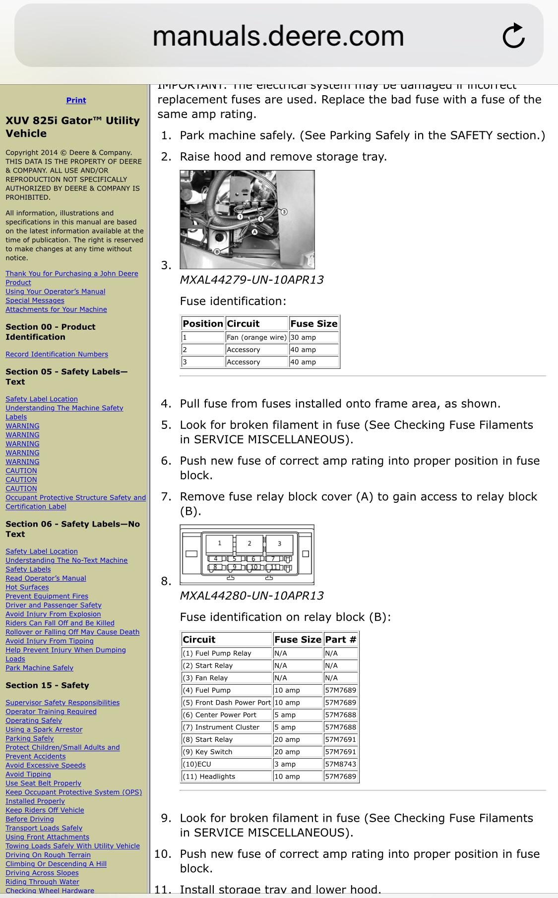 fuse box distribution box diy 825i fuse box lift bed - john deere gator forums #9