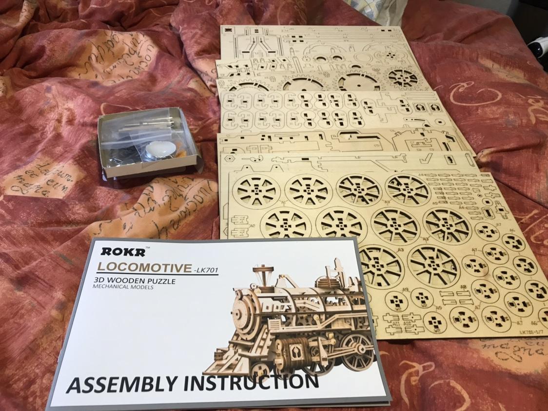 Rokr wooden steam locomotive - The Lounge - MSUK RC Forum