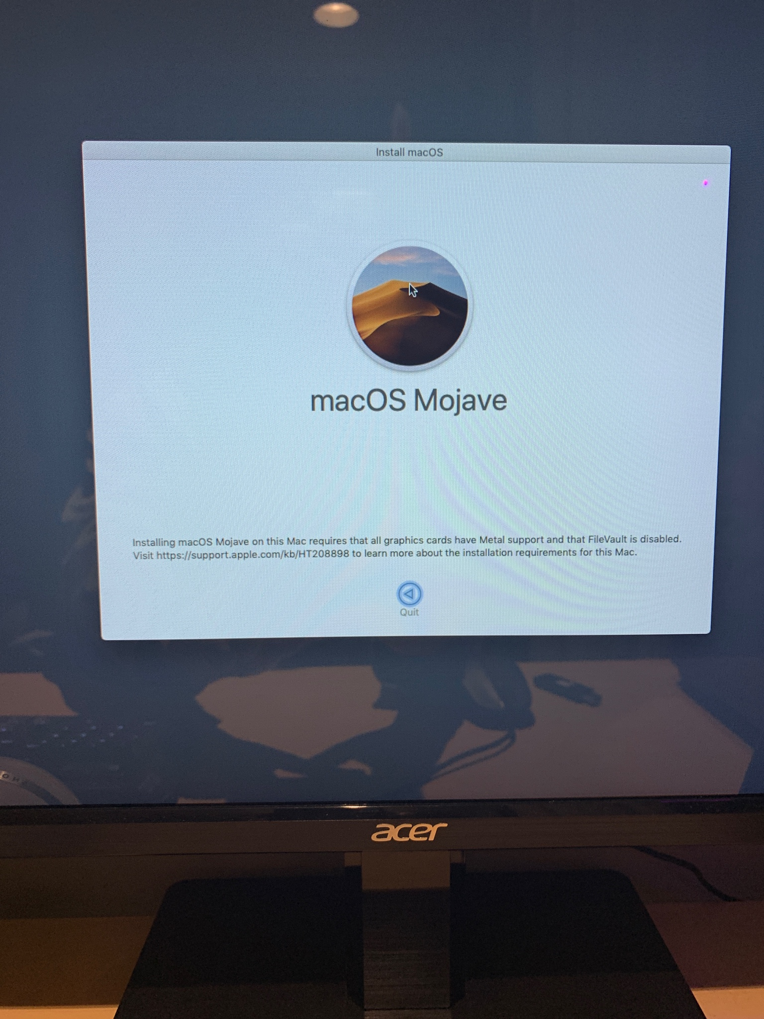 Stuck on macOS Mojave install screen - AMD OS X