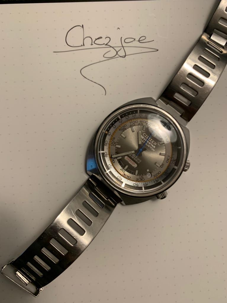 citizen - [Vends] Citizen Seven Star Rallycustom cadran gris 1b7fa321382cfa5cd85e1b55be07d5c3
