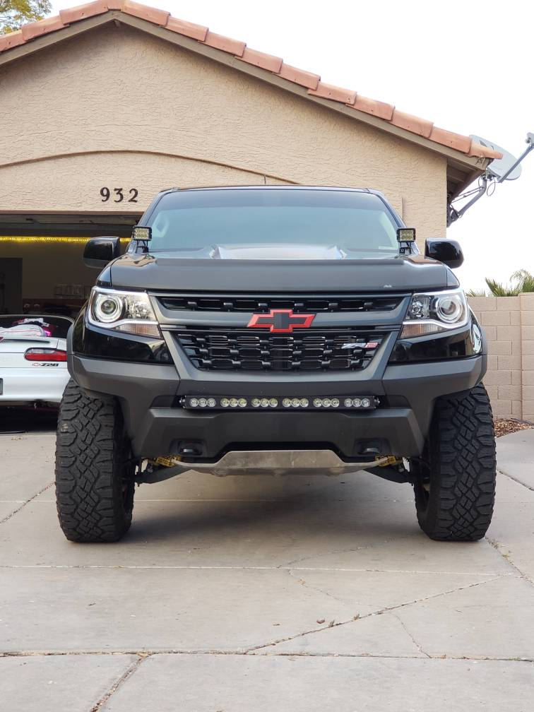New Wheels For The Zr2 Chevy Colorado Amp Gmc Canyon
