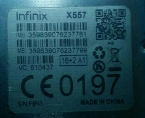 Infinix X557 Dead After Flash