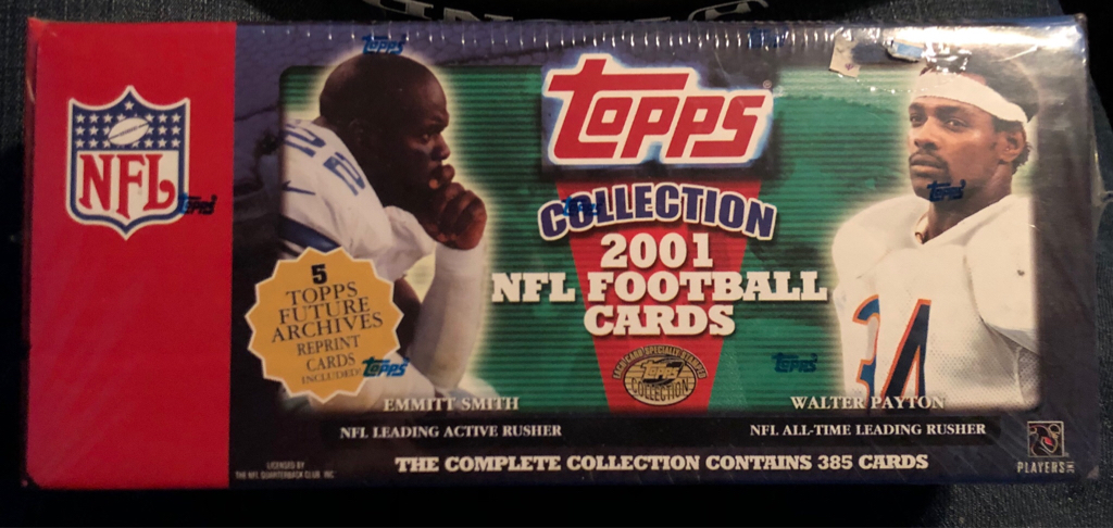 Cool Find At The Comic Shop 2001 Topps Set Blowout Cards