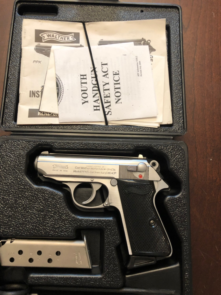 Reduced 3/16 Interarms Walther PPK/S  380, Lockeford $800