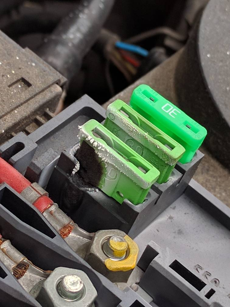 The Audi TT Forum • View topic - battery Fusebox clean/inspection | Audi Tt Fuse Box On Battery |  | The Audi TT Forum