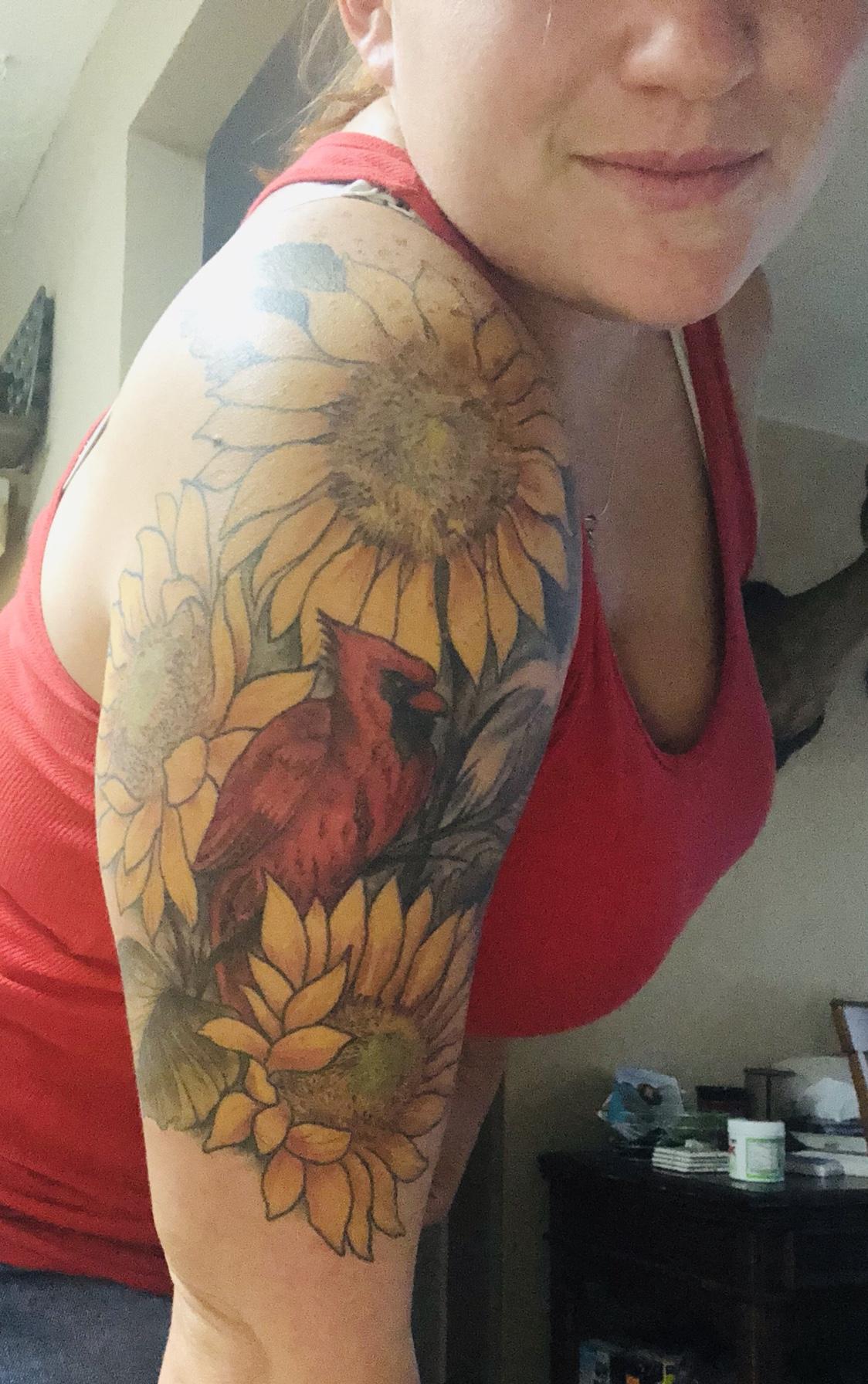 f7026f35e Full sleeve tattoo filler ideas. - TexasBowhunter.com Community ...