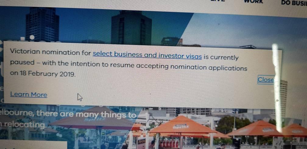Victoria State Sponsorship 190 visa aspirants - Page 393