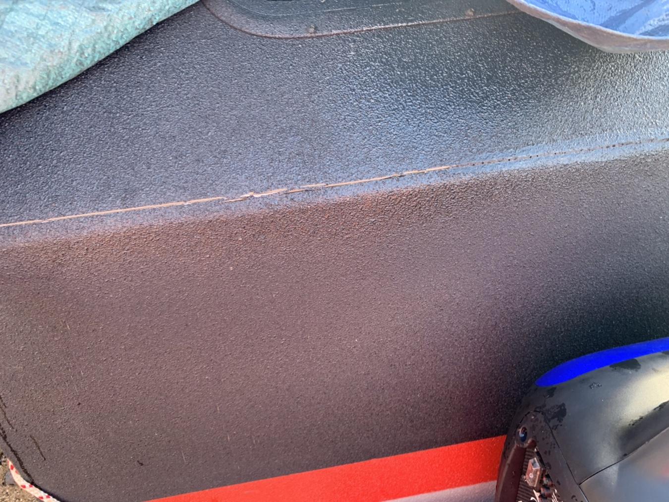 Raptor Liner on wood sides trailer not holding up? How can I