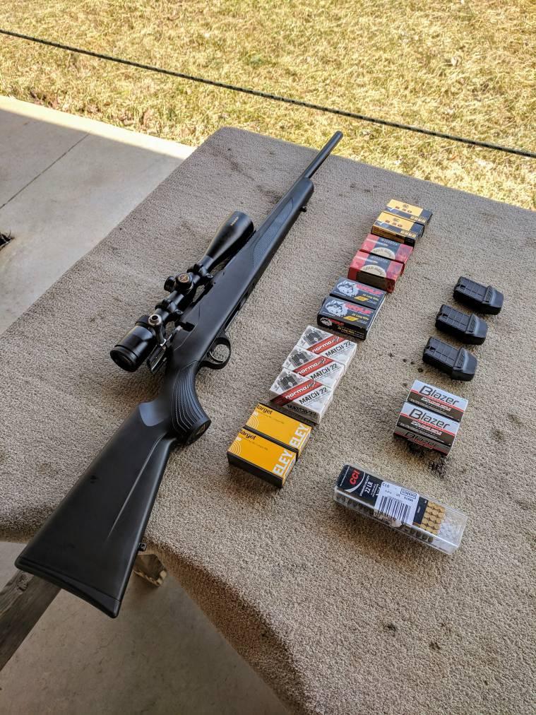 Impressions of the Tikka T1x rimfire rifle in 22LR