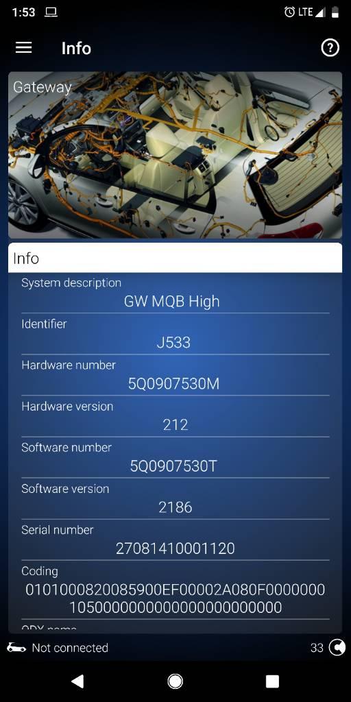 Coding Help Needed - Module 55 is gone! - GOLFMK7 - VW GTI MKVII