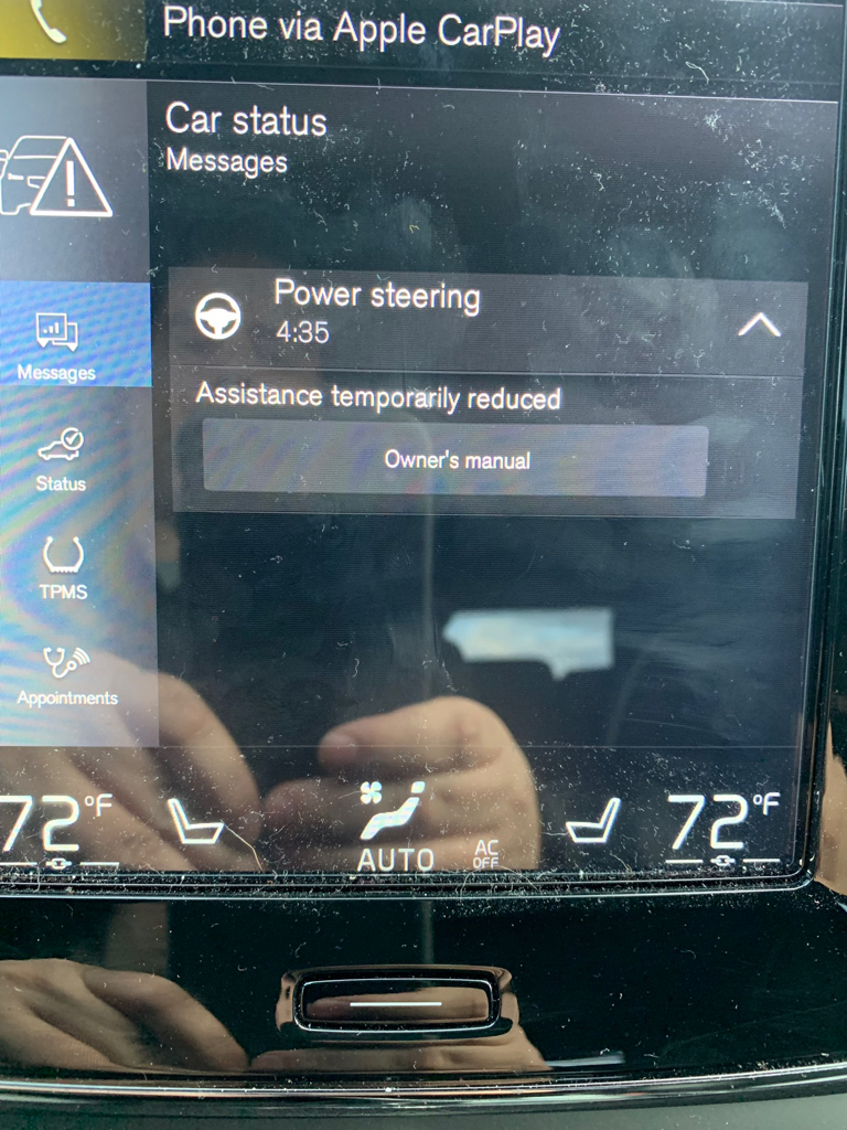 Power Steering Assistance Temporally Reduced Swedespeed Volvo Performance Forum