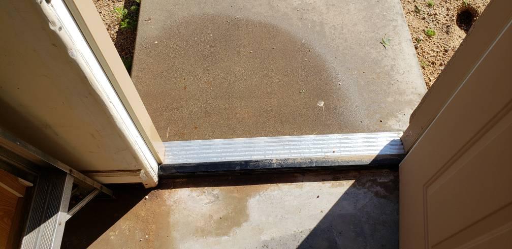 Water Leaking Past Threshold In Garage Pirate4x4 Com