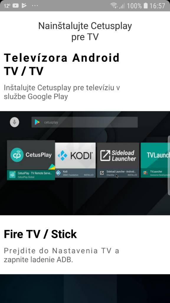 CetusPlay - lepší než Yatse ovládaní celého androidu