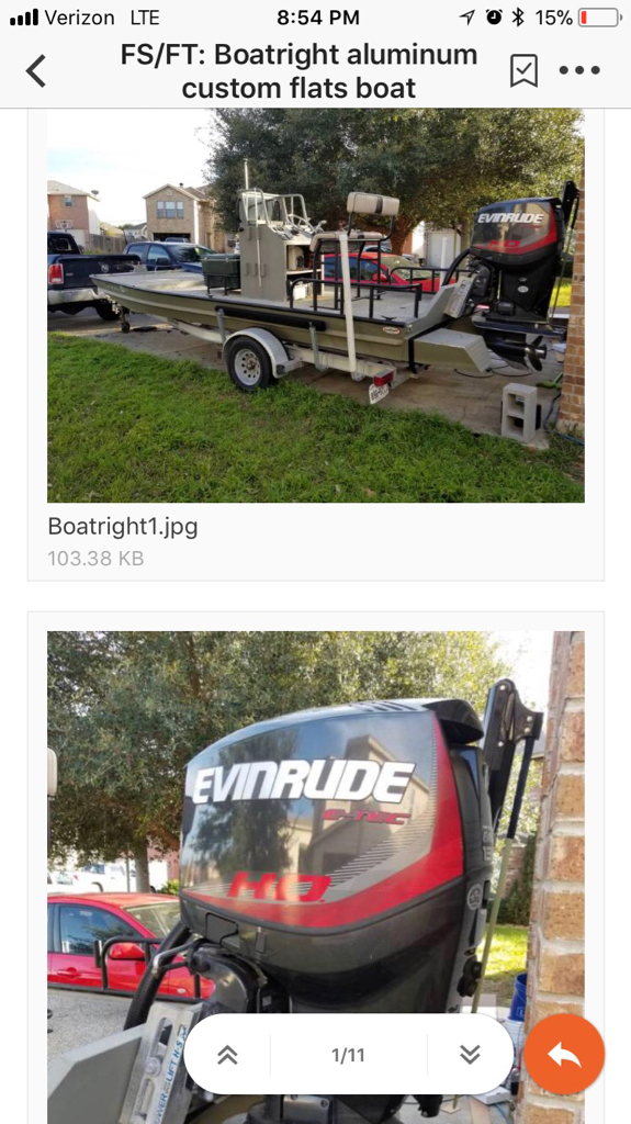 What boat? - TexasBowhunter com Community Discussion Forums
