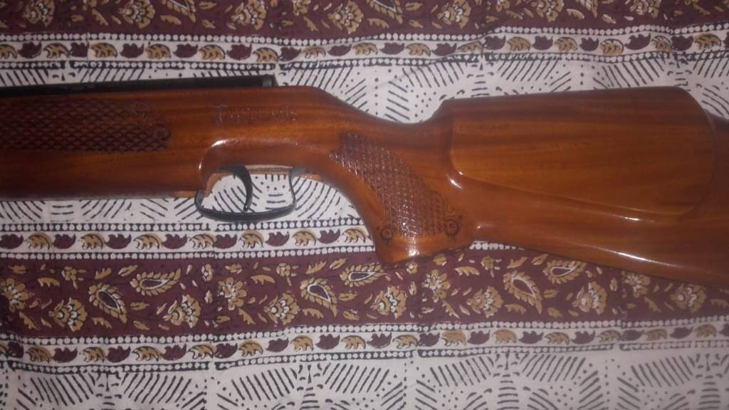 sdb artemis in walnut stock - Indians For Guns