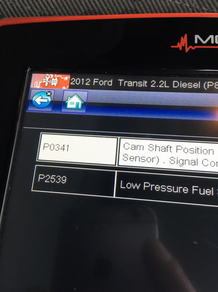 Ford Transit Forum • View topic - Mk7 going into limp mode