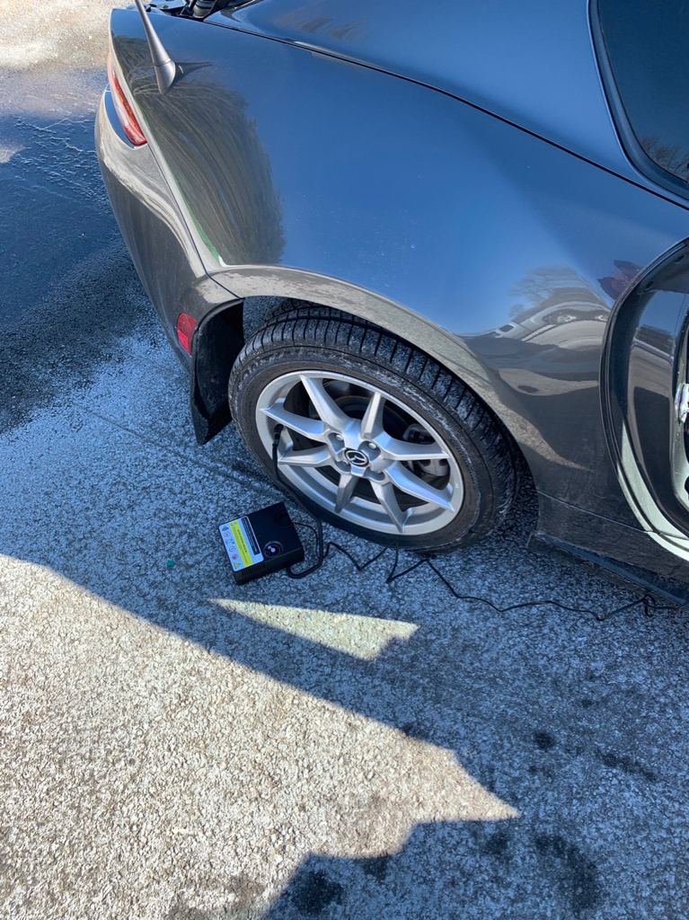 How strong(fast) is our tire inflator? - MX-5 Miata Forum