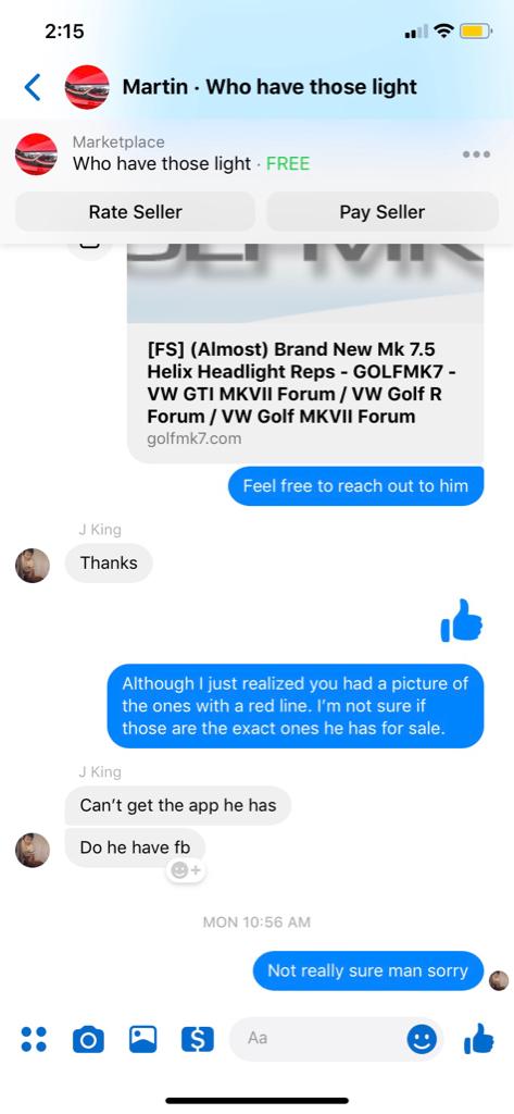 FS] (Almost) Brand New Mk 7 5 Helix Headlight Reps - GOLFMK7