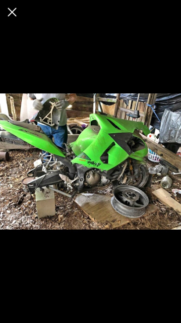 2005 zx6r stunt bike build - ZX6R Forum