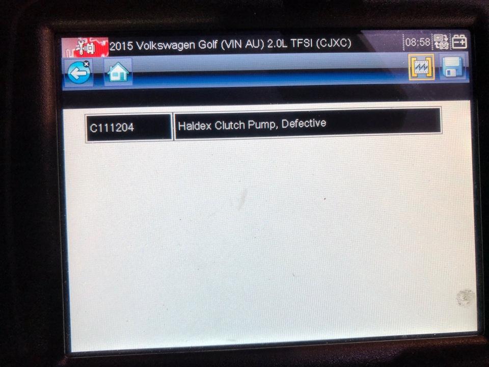 Haldex fault codes - VCDS - VWROC - VW R Owners Club