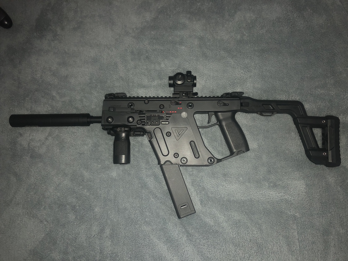 Krytac KRISS vector - Zero In | Airsoft Forums