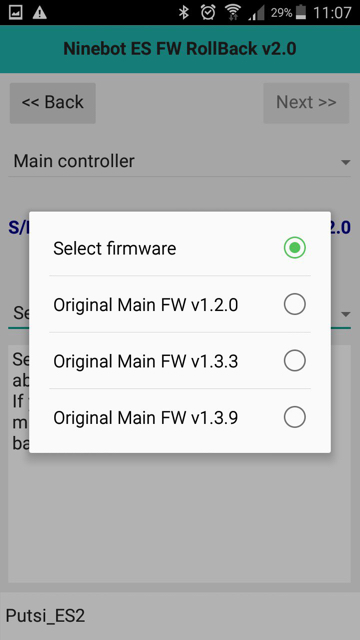 XIAOMI M365 FIRMWARE FLASHING APP FOR ANDROID - Update