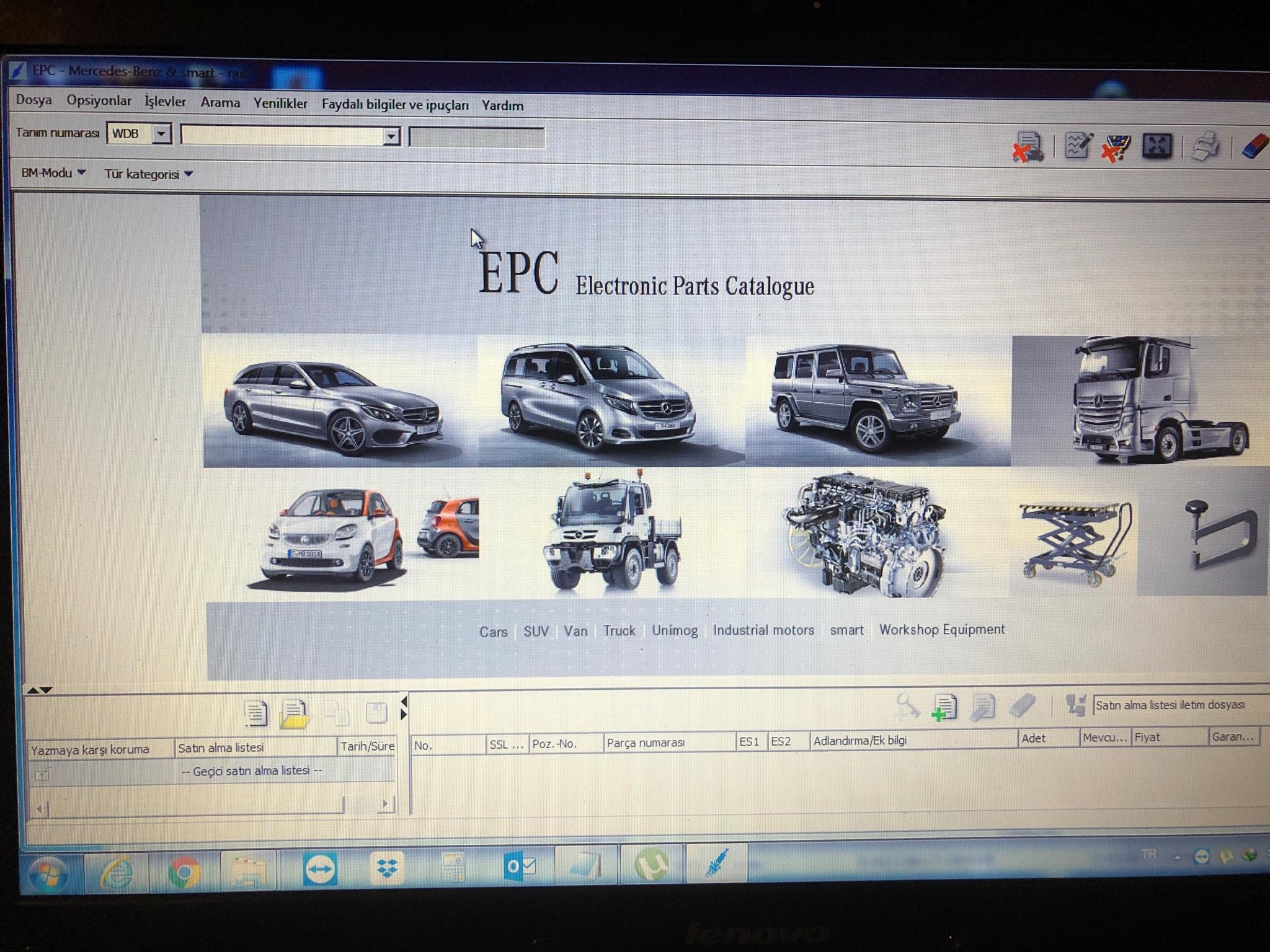 EPC kurulum hatası   !!! Yardım