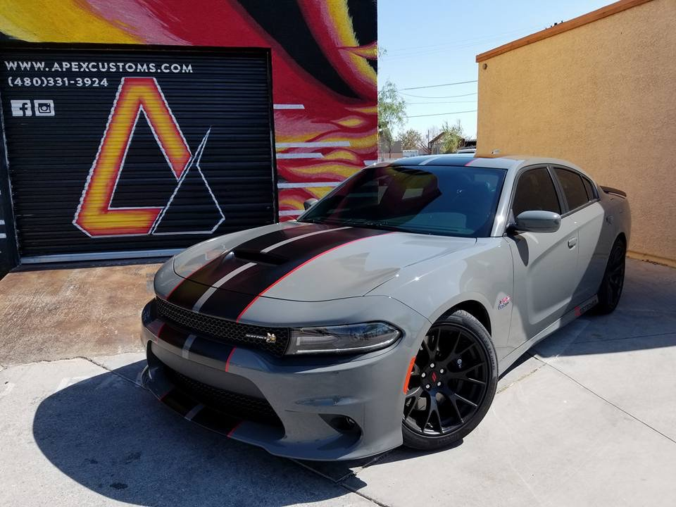 Destroyer Gray W Stripes Srt Hellcat Forum
