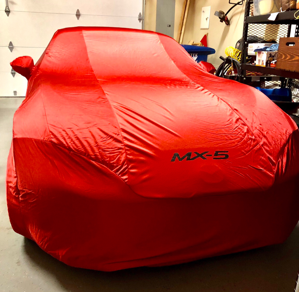 Super Soft Stretch Indoor Car Cover for Fiat 124 Spider 2015 on