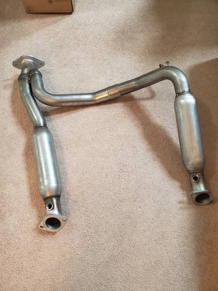 Calling all V8 owners that want a high flow Y-pipe!!! I can do it