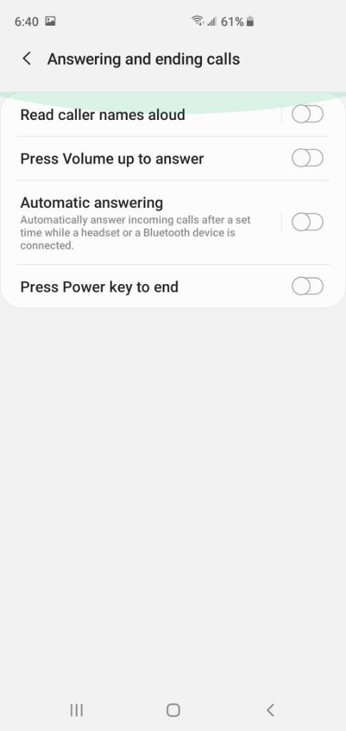 Tap instead of swiping to answer & end calls? - Android