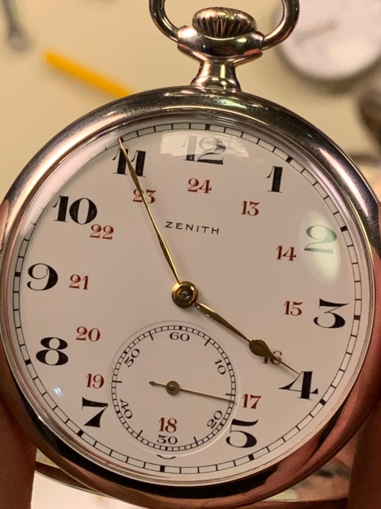 Dating Zenith Pocket horloges verhuizen na 2 maanden van dating