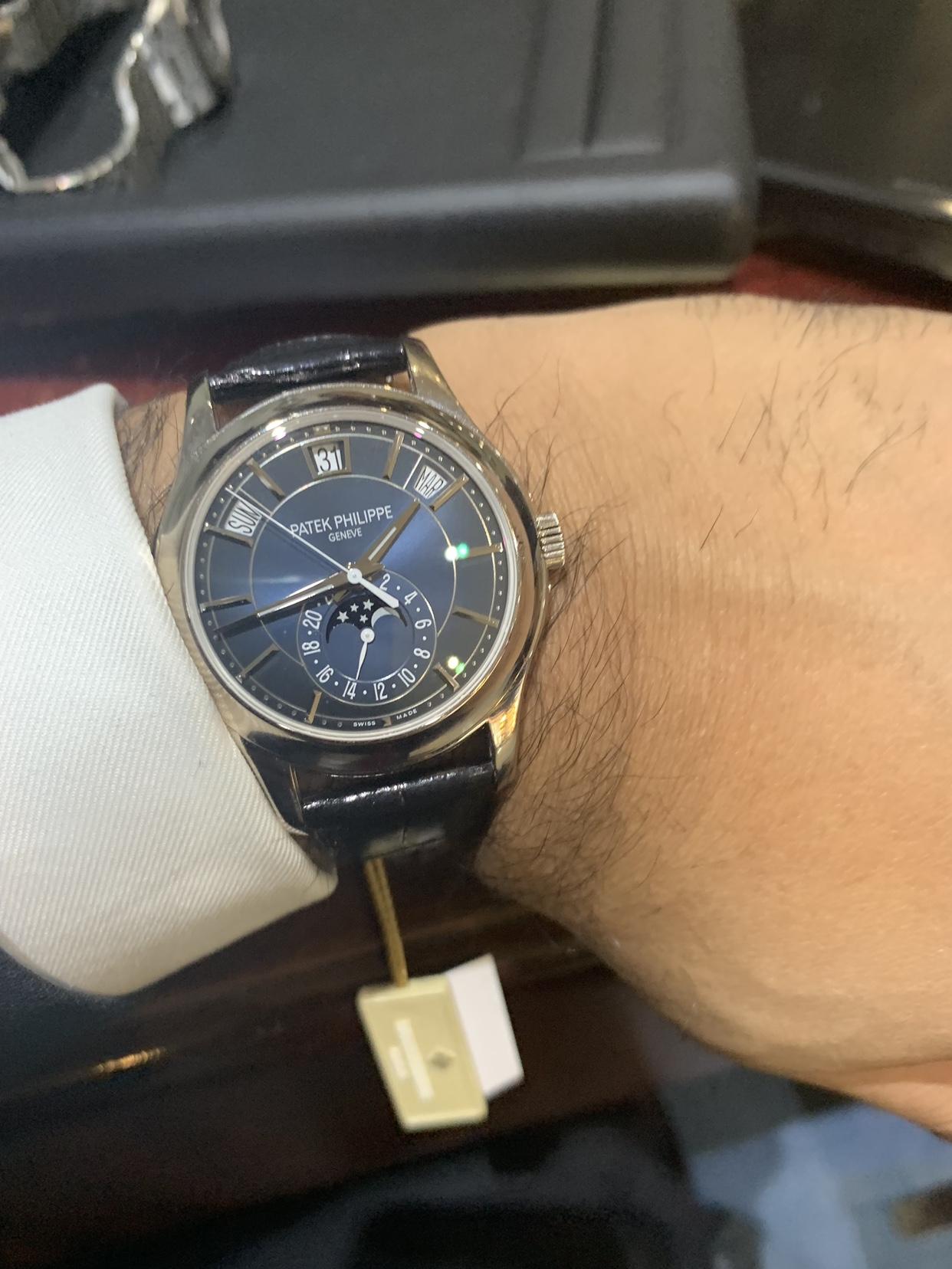 Ap15202 V Patek 5205g Blue Dial Rolex Forums Rolex Watch Forum