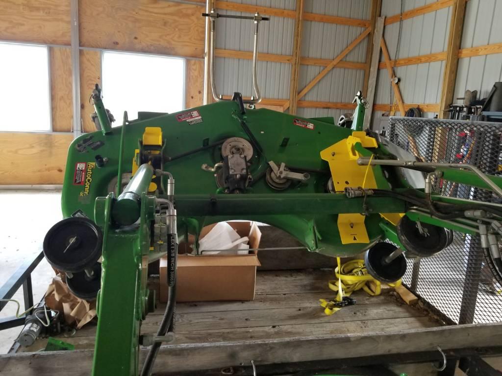 New John Deere Load N Go Brackets Bxx10241 For 60d 7