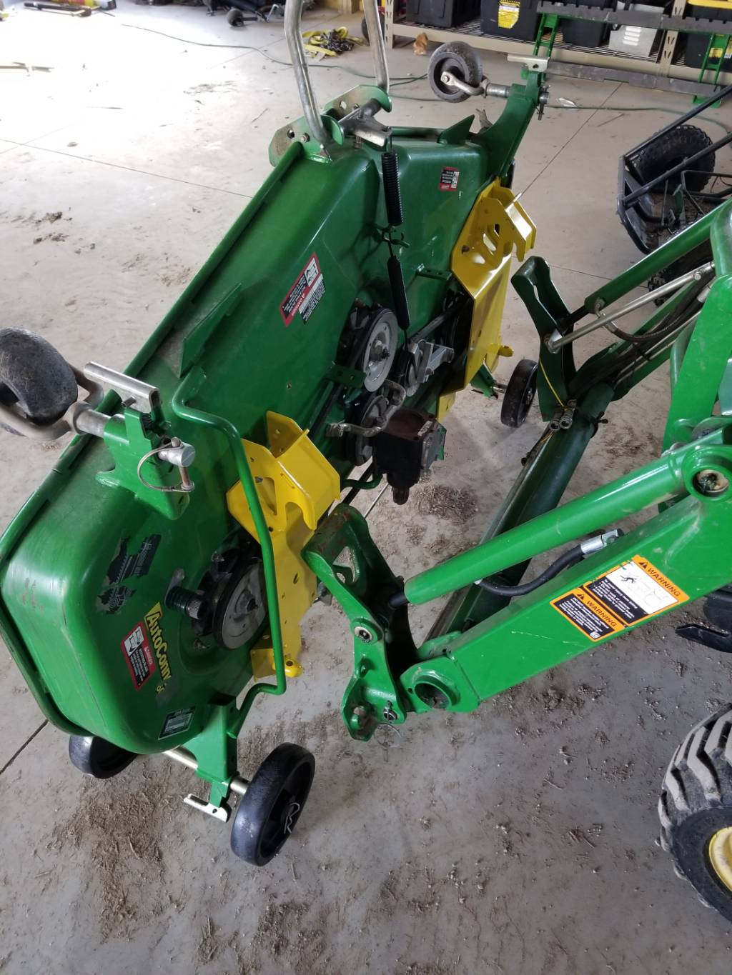 Greenpartstore John Deere Parts And More Parts For >> New John Deere Load N Go Brackets Bxx10241 For 60d 7 Iron