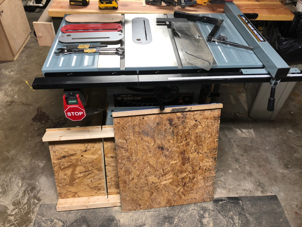 For Sale Selling My Delta 36 600 Tablesaw Woodworking